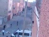 intifada 01/11/2012  Layoune au territoire occupé du Sahara Occidental
