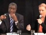 Dr Denis Mukwege à Suède, après avoir échappé à un assassinat au Sud Kivu