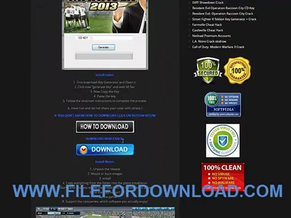 la noire key generator download