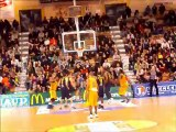ALM Evreux-Hyères Toulon 4ème quart-temps