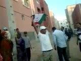 intifada 02/11/2012  Layoune au territoire occupé du Sahara Occidental