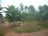 Burkina Faso - trajet en bus STAF entre Houndé et Bobo