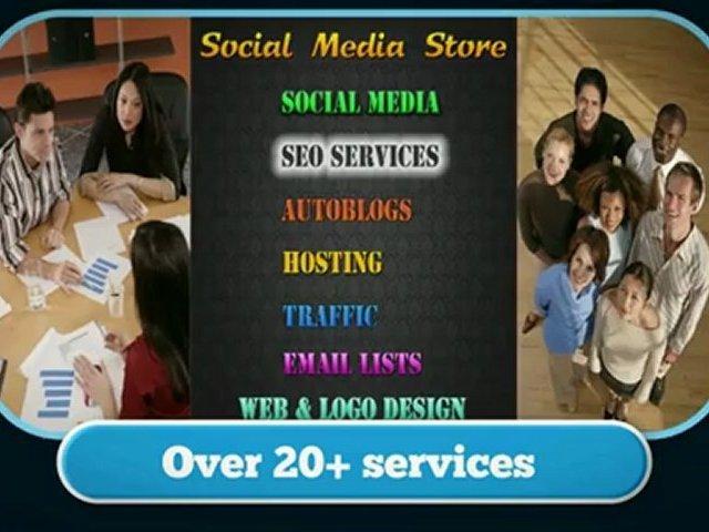 Social Media Store – Buy Social Media