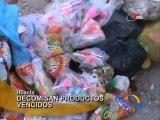 Huanta: Operativo municipal permite incautar golosinas vencidas