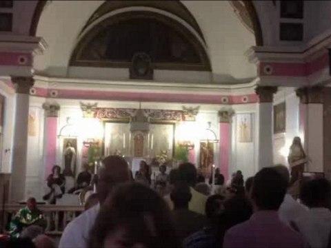 Maurice était à la messe à la Nouvelle Orléans, dimanche 21 octobre 2012