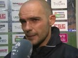 Interview de fin de match : ESTAC Troyes - Montpellier Hérault SC - saison 2012/2013