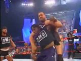 HBK Kicks Booker T out of the nWo