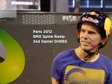 FISE X Paris 2012 BMX Spine Ramp - 2nd  Daniel Dhers