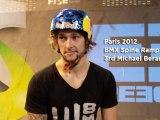 FISE X Paris 2012 BMX Spine Ramp - 3rd  Michael Beran