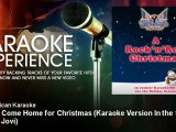 All American Karaoke - Please Come Home for Christmas - Karaoke Version In the Style of Bon Jovi
