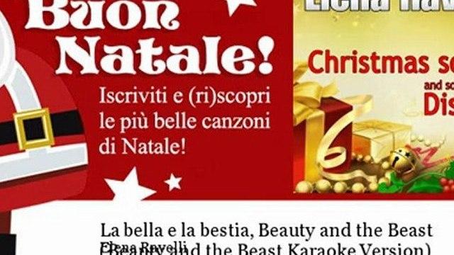 Elena Ravelli - La bella e la bestia, Beauty and the Beast - Beauty and the Beast Karaoke Version