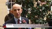 Évènements : Remise du rapport Louis Gallois sur la compétitivité