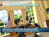 High tech : les applis pour suivre la présidentielle américaine