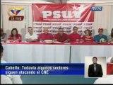 Cabello ratifica a Luis Acuña como candidato del PSUV en Sucre