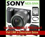 SPECIAL DISCOUNT Sony NEX-5NK/B 16.1MP Compact Interchangeable Lens Digital Camera in Black with 18-55mm Lens + Sony E-Mount SEL16F28 16mm f/2.8 Wide-Angle Lens + 32GB SDHC + Sony Remote Commander + Sony Case + Lens Filter + Accessory Kit