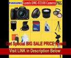 BEST PRICE Panasonic Lumix Dmc-fz100 Digital Camera (Includes Manufacturer's Supplied Accessories) + Best Value 8GB, Lens, Batterries, Deluxe Carrying Case & Tripod Complete Accessories Package