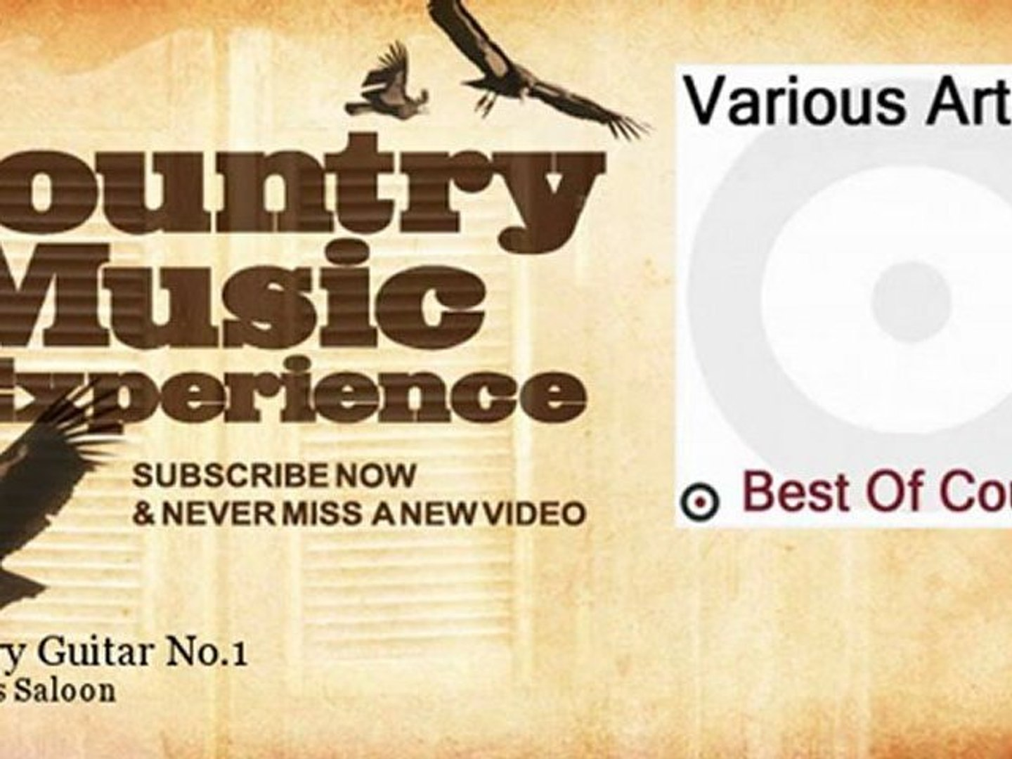 Sammy's Saloon - Country Guitar No.1 - Country Music Experience