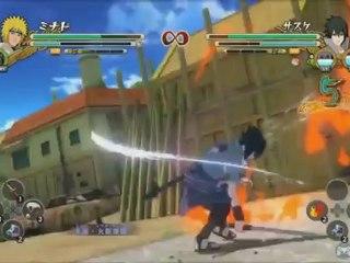 Naruto Shippuden : Ultimate Ninja Storm 3 - Minato Vs. Sasuke