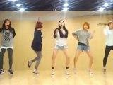 Wonder Girls - Like This mirrored Dance Practice