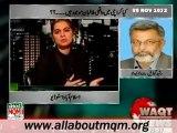WAQT Straight Forward: Taliban threaten to secular parties & Taliban's presence in Karachi