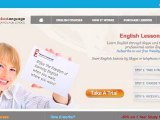 Cours d'anglais en ligne.