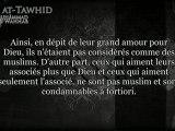 kitab tawhid - ch6 L'explication du Tawhîd, et de l'attestation qu'il n'y a pas de divinité si ce n'est Allah