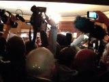 Cohue médiatique à l'entrée du salon des Goncourt