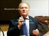 UA2012M'PEP - Réu publique CNR - Réponses de François ASSELINEAU (UPR) aux interventions de la salle - 3 novembre 2012 à Aix-en-Provence