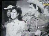 """- SHEILA - Roger Pierre -Pierre tchernia  (1965-n&b)- """""""" le folklore Américain """""""""""