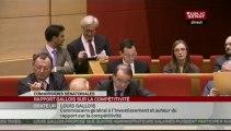 Audition,Louis Gallois, commissaire général à l'investissement sur son rapport sur la compétitivité