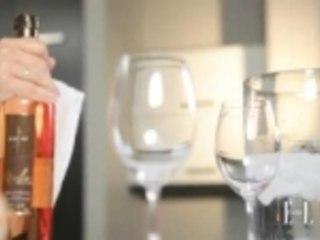 Brunch et vin rosé