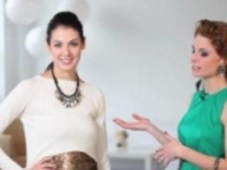 Recycler sa tenue des fêtes en look tout-aller: la jupe à paillettes
