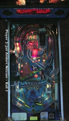 BRAM STOKER'S DRACULA Pinball Table (Williams 1993) - Pinburgh 12 C Division Final (Game 3)