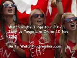 Watch Rugby Tonga tour Italy vs Tonga Live Online