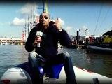 """""""Place to be Vendée Globe"""" Alonzo et Gautier, Boat Captain bateau cheminée Poujoulat"""