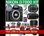 Nikon D7000 Digital Camera + Nikon 18-55 VR Zoom Lens + Nikon 70-300 Telephoto Zoom Lens + Nikon 50mm Lens + .40x Super Wide Angle Fishe Fisheye Lens + 2x Telephoto Lens + 4 Piece Macro Kit + 16GB Memory Card + 3 Year Celltime Warranty FOR SALE