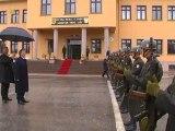 Cumhurbaşkanı Gül'ün, Çankırıda Garnizon Komutanlığı Ziyareti