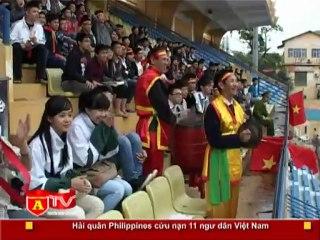 ANTÐ - Chung kết giải bóng đá học sinh THPT Hà Nội - Báo ANTĐ năm 2012