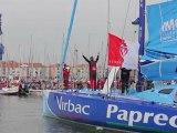 Départ du Vendée Globe 2012 - Jean-Pierre Dick, Virbac-Paprec 3
