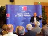 Intervention du député JP Gorges le 10 novembre 2012 à Chartres