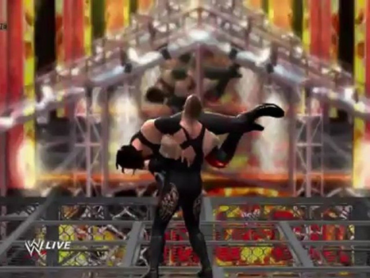 NEW WWE '13 Gameplay - Undertaker vs Kane Hell In A Cell