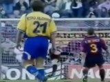 Goles de GUAYRE al Real Madrid y FC Barcelona  Temp. 2000/2001