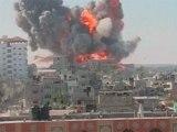 Four Palestinians killed, 25 injured in Israeli attack on Gaza