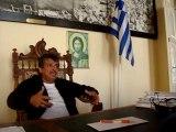 Ο δήμαρχος Καστελόριζου Π. Πανηγύρης μιλά στο NEWS 247 -2-