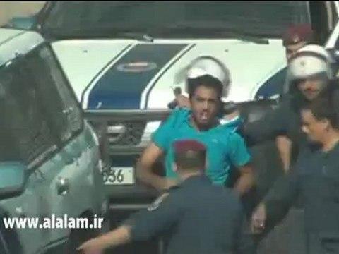 اعتقال شاب بحريني والتنكيل به بكل وحشية