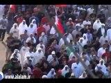 تشييع شهيد صلاة الجمعة علي عباس في قرية سماهيج بالبحرين