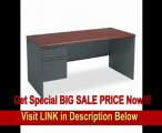 BEST PRICE 38000 Series Left Pedestal Desk, 3 4 Pedestal, Light Gray Light Gray, 72 x 36 (HON38294LQQ)