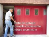 Porte de garage Tarbes. Porte de garage coulissante latérale aluminium sib. 65. Bagnères de Bigorre. Hautes Pyrénées