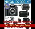 BEST BUY Nikon D7000 Digital Camera + Nikon 18-55mm VR Lens + Nikon 70-300mm Lens + .40x Wide Angle Fisheye Lens + 500mm Mirror Lens+ 3 Year Celltime Warranty