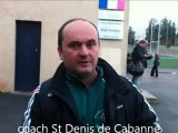 Roanne Clermont/Saint Denis de Cabanne, 1ère div du Roannais